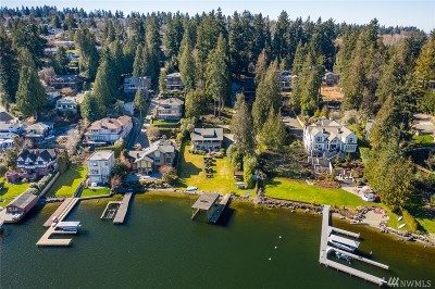 Mercer Island Single Family Home For Sale: 4006 E Mercer Way