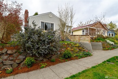 Seattle Single Family Home For Sale: 7029 Dibble Ave NW