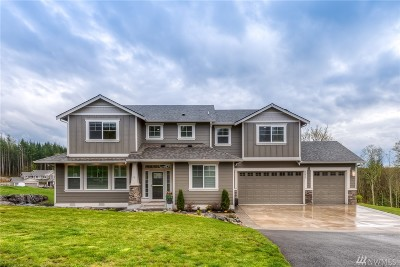 Snohomish Single Family Home For Sale: 18412 33rd Place NE