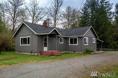 Sultan Single Family Home For Sale: 12701 Sultan Basin Road