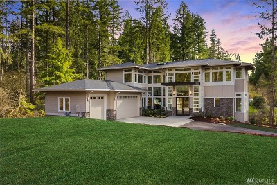 Sammamish Single Family Home For Sale: 2618 E Lake Sammamish Pkwy SE