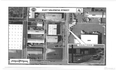 Bellingham Residential Lots & Land For Sale: 2127 Valencia St