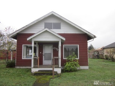 Centralia Single Family Home For Sale: 2702 Mount Vista Rd