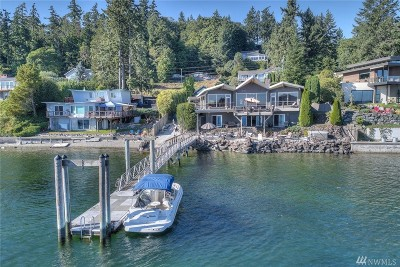 Gig Harbor Single Family Home Contingent: 5121 Cromwell Dr NW