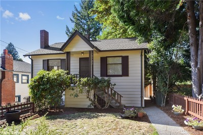 Seattle Single Family Home For Sale: 10723 Interlake Ave N