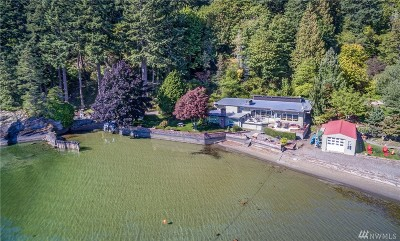 Bellingham Single Family Home For Sale: 2285 Northshore Rd