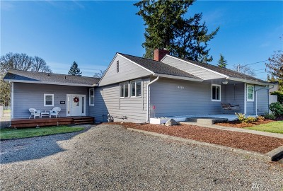 Lakewood Single Family Home For Sale: 6522 Steilacoom Blvd SW