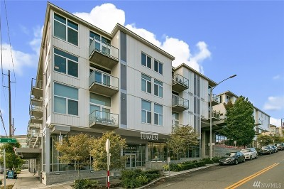 Condo/Townhouse Sold: 501 Roy St #T208
