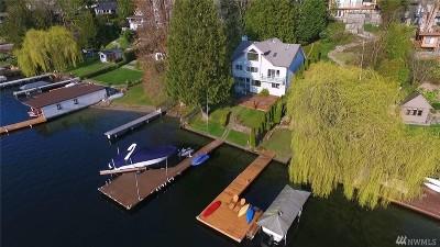 Kirkland Single Family Home For Sale: 11525 Holmes Point Dr NE