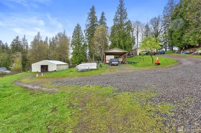 Snohomish Single Family Home For Sale: 10025 Wagner Rd