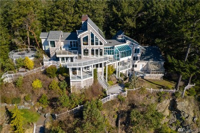 La Conner, Anacortes Single Family Home For Sale: 5 Beach Dr #A