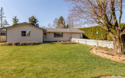 Lynden Single Family Home Pending Inspection: 8065 Lyn Dale Dr