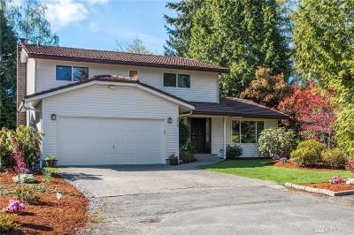 Mercer Island Single Family Home For Sale: 8815 SE 36th St