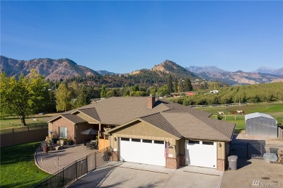 Cashmere Single Family Home For Sale: 6310 Hay Canyon Rd