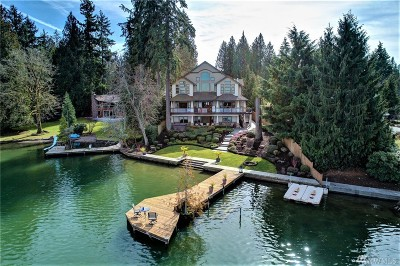 Lake Tapps Single Family Home For Sale: 21509 60th St E