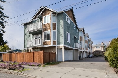 Shoreline Single Family Home For Sale: 14539 32nd Ave NE #A