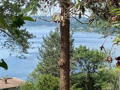 Newcastle Single Family Home For Sale: 6657 Lake Washington Blvd SE