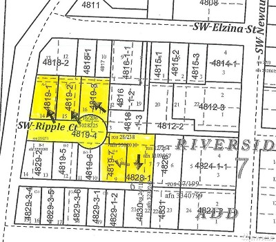 Residential Lots & Land For Sale: 1294 SW Ripple Ct