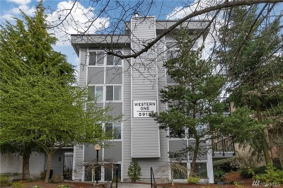 Seattle Condo/Townhouse For Sale: 5912 California Ave SW #401