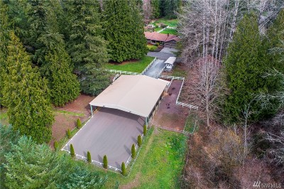 Snohomish Single Family Home Contingent: 16903 93rd St SE