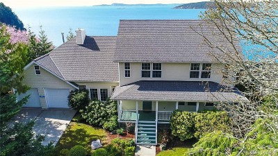 Anacortes Single Family Home Pending Inspection: 12912 Sunset Lane