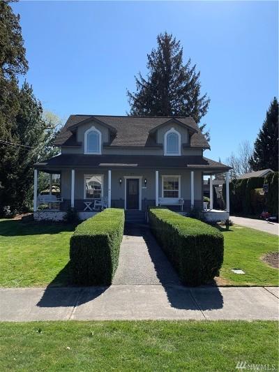 Sedro Woolley Single Family Home Pending Inspection: 805 Talcott St