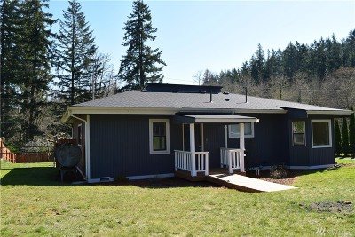 Poulsbo Single Family Home Pending Inspection: 14297 Brownsville Hwy NE
