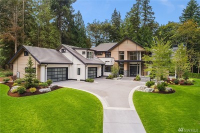 Sammamish Single Family Home For Sale: 18875 NE 49th Place