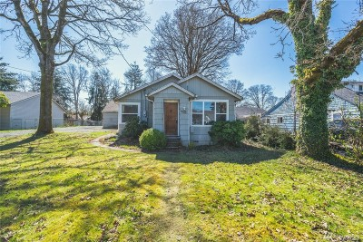 Chehalis Single Family Home For Sale: 1533 SW Johnson Ave