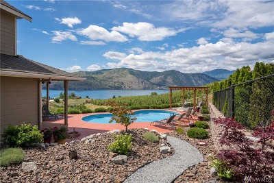 Chelan County Single Family Home For Sale: 752 Chapman Rd