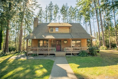 Poulsbo Single Family Home For Sale: 22989 Port Gamble Rd NE