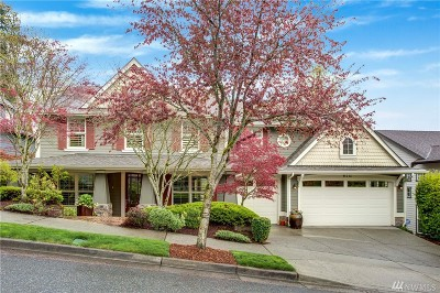 Issaquah Single Family Home For Sale: 618 Wilderness Peak Dr NW