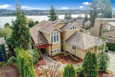 Mercer Island Single Family Home For Sale: 9458 SE 52nd St