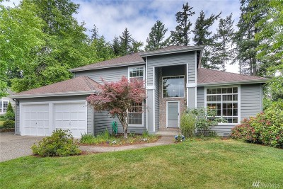 Gig Harbor Single Family Home For Sale: 1611 39th St Ct NW