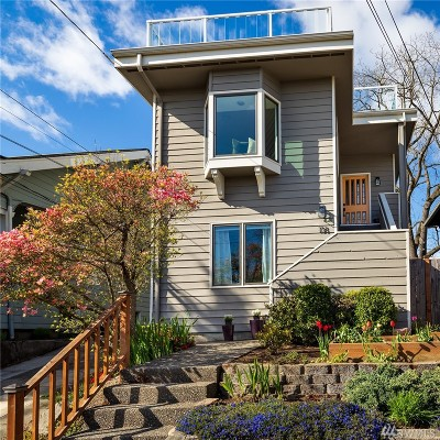 Seattle Single Family Home For Sale: 138 N 74th St