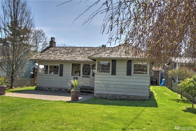 Point Roberts Single Family Home For Sale: 2143 Birch