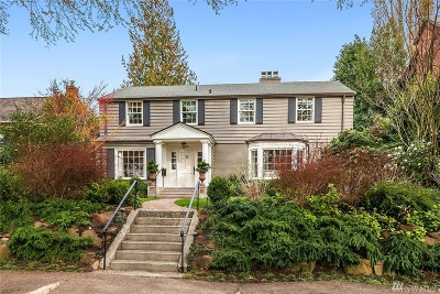 Seattle Single Family Home For Sale: 614 34th Ave E