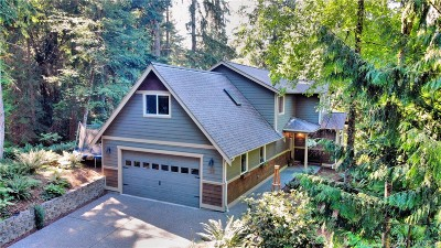 Bellingham Single Family Home Contingent: 34 Basin View Cir
