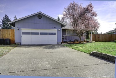 Rainier Single Family Home Pending: 405 Volesky Dr SE
