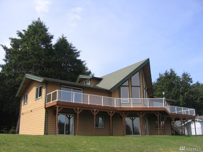 Grays Harbor County Single Family Home For Sale: 220 Bass Ave NE