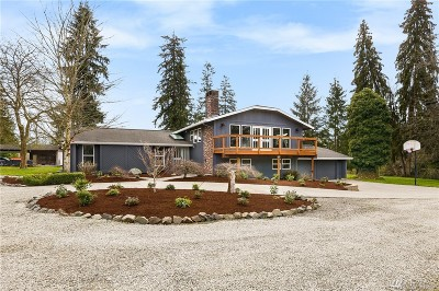 Lake Stevens Single Family Home Contingent: 4827 95th Ave NE
