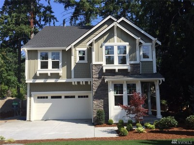 Sammamish Single Family Home For Sale: 4158 Issaquah-Pine Lake (Lot 4) Rd SE