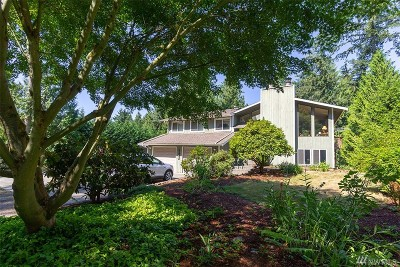 Woodinville Single Family Home For Sale: 14023 Bear Creek Rd NE