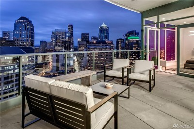 Seattle Condo/Townhouse For Sale: 1920 4th Ave #3103