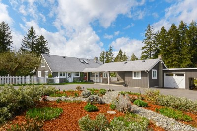 Poulsbo Single Family Home Pending Inspection: 23120 Clear Creek Rd NW