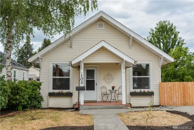 Single Family Home For Sale: 102 G St SE