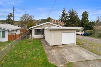 Tenino Single Family Home Pending Inspection: 1396 Park Ave E
