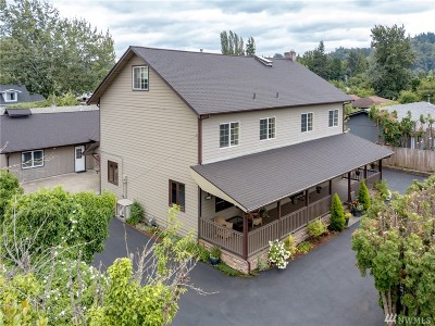 Puyallup Single Family Home For Sale: 801 16th St SE