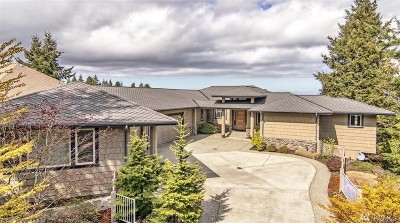 Port Ludlow Single Family Home Pending Inspection: 107 Deer Hollow Cir