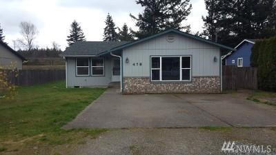Tenino Single Family Home For Sale: 478 Huston St S